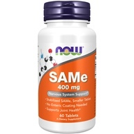 NOW Foods - SAMe Vegetarian Enteric Coated 400 mg. - 60 Tablets