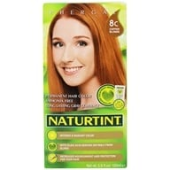 Naturtint - Permanent Hair Colorant 8C Copper Blonde - 4.5 oz.