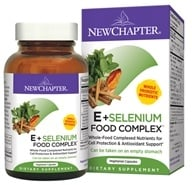 New Chapter - Organics E & Selenium Food Complex - 60 Vegetarian Capsules (727783006646)