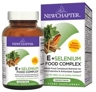 Image of New Chapter - Organics E & Selenium Food Complex - 60 Vegetarian Capsules