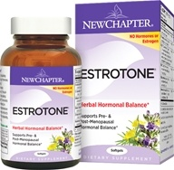 New Chapter - Estrotone Herbal Hormonal Balance - 60 Softgels, from category: Herbs