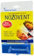 Image of Scandinavian Formulas - Nozovent Anti-Snoring Device - 1 Box(s) formerly S.H. Nozovent Anti-Snore CLEARANCE PRICED