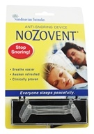 Scandinavian Formulas - Nozovent Anti Snoring Device - 2 Piece(s) formerly S.H. Nozovent Anti-Snore, from category: Nutritional Supplements