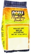 NOW Foods - Non Fat Dry Milk - 14 oz. (733739058317)