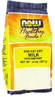NOW Foods - Non Fat Dry Milk - 14 oz.