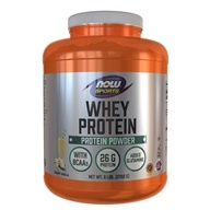 Image of NOW Foods - Whey Protein Economy Vanilla - 5 lbs.