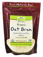 Image of NOW Foods - Oat Bran - 14 oz.