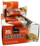 Image of Forward Foods - Detour Oatmeal Whey Protein Bar Peanut Butter Chocolate Chip - 3 oz.