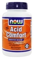 NOW Foods - Acid Comfort Digestive Health - 90 Lozenges by NOW Foods