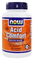NOW Foods - Acid Comfort Digestive Health - 90 Lozenges - $8.07