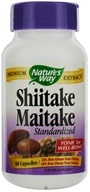 Nature's Way - Shiitake-Maitake Standardized Extract - 60 Capsules, from category: Nutritional Supplements