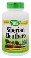 Nature's Way - Siberian Eleuthero Root 410 mg. - 180 Capsules by Nature's Way