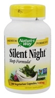 Nature's Way - Silent Night With Valerian 440 mg. - 100 Capsules - $6.24