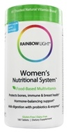 Rainbow Light - Women's Nutritional System Multivitamins - 180 Tablets