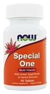 NOW Foods - Special One Multiple Vitamin with Green Superfoods - 90 Tablets, from category: Vitamins & Minerals
