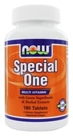 NOW Foods - Special One Multiple Vitamin with Green Superfoods - 180 Tablets