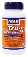 NOW Foods - Tru-C BioComplex - 60 Vegetarian Capsules (733739007063)