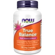NOW Foods - True Balance High Potency Multiple - 120 Capsules (733739033802)