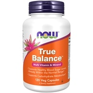 NOW Foods - True Balance High Potency Multiple - 120 Capsules - $13.53