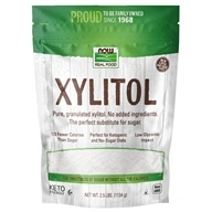 NOW Foods - Xylitol - 2.5 lbs. (733739069863)