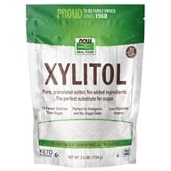 Image of NOW Foods - Xylitol - 2.5 lbs.