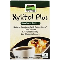 Image of NOW Foods - Xylitol Plus - 75 Packet(s)