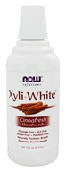 NOW Foods - XyliWhite Mouthwash Cinnafresh Flavor - 16 oz. (733739080967)