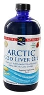 Image of Nordic Naturals - Arctic Cod Liver Oil Strawberry - 16 oz.