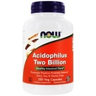 NOW Foods - Acidophilus 2 Billion - 250 Capsules, from category: Nutritional Supplements