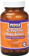 NOW Foods - Acidophilus 3 Billion - 90 Tablets