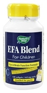 Nature's Way - EFA Blend for Children 445 mg. - 120 Softgels, from category: Nutritional Supplements