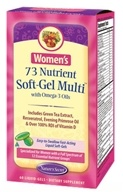 Nature's Secret - Women's 73 Nutrient Multi with Omega-3 Oils - 60 Softgels by Nature's Secret