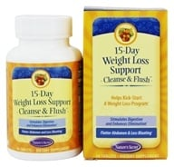 Nature's Secret - 15-Day Weight Loss Cleanse & Flush - 60 Tablets (710363255541)