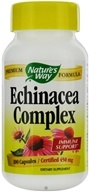 Nature's Way - Echinacea Root Complex (Certified Organic) 450 mg. - 100 Capsules, from category: Herbs