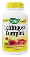 Echinacea Root Complex (Certified Organic) 450 mg. - 180 Capsules
