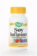 Nature's Way - Soy Isoflavones With Digestive Enzymes - 100 Capsules by Nature's Way