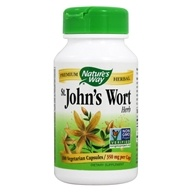 Image of Nature's Way - Saint John's Wort Herb 350 mg. - 100 Capsules