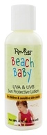 Reviva Labs - Beach Baby UV A/B Sun Protective Lotion SPF 25 - 4 oz. by Reviva Labs