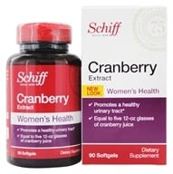 Schiff - Cranberry Extract Extra Strength 500 mg. - 90 Softgels by Schiff