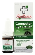 Image of Similasan - Computer Eye Relief Eye Drops - 0.33 oz.