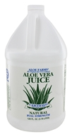 Aloe Farms - Aloe Vera Juice Organic Gallon - 128 oz., from category: Nutritional Supplements