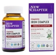 New Chapter - Iron Food Complex - 60 Tablets (formerly Every Woman's Iron Support) - $16.17