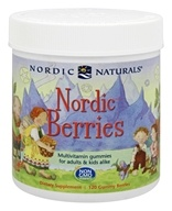 Nordic Naturals - Nordic Berries Multivitamin Gummies - 120 Gummies (768990301209)