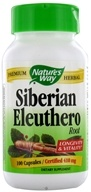 Nature's Way - Siberian Eleuthero Root 410 mg. - 100 Capsules, from category: Herbs