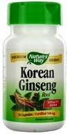 Nature's Way - Korean Ginseng Root 560 mg. - 50 Capsules, from category: Herbs