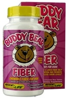 Image of ReNew Life - Buddy Bear Fiber Supplement for Children Cherry - 60 Chewable Tablets