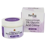 Reviva Labs - 5% Glycolic Acid Creme - 1.5 oz.