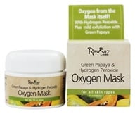 Image of Reviva Labs - Green Papaya & Hydrogen Peroxide Oxygen Mask - 1.5 oz.