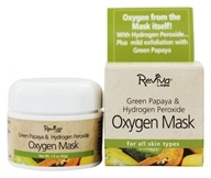 Reviva Labs - Green Papaya & Hydrogen Peroxide Oxygen Mask - 1.5 oz. - $7.85