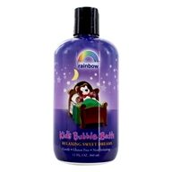 Rainbow Research - Organic Herbal Bubble Bath For Kids Sweet Dreams - 12 oz.
